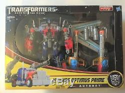 Transformateurs Cachée De La Lune Dotm Jetwing Optimus Prime Nouveau Scellés Mint