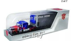 Transformateurs Cachée De La Lune Dotm Ultime Optimus Prime Sdcc 2011 Exclusive