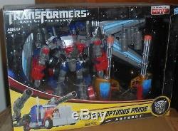 Transformateurs Cachée De La Lune Jetwing Optimus Prime Misb Nouveau Chef Dotm