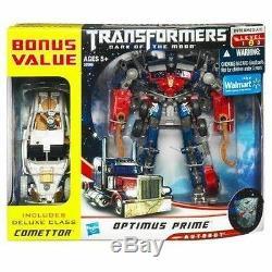 Transformateurs Cachée De La Lune Optimus Prime & Comettor