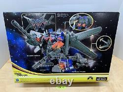 Transformateurs Dark Of The Moon Electornic Ultimate Jetwing Optimus Prime Misb