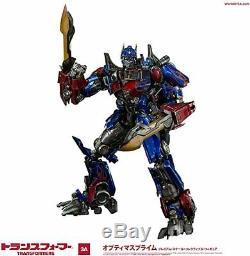 Transformateurs Dark Side Lune Optimus Prime (convoy) Threea Abs Et Pvc Et Pom
