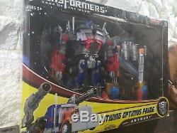 Transformateurs Dotm Face Cachée De La Lune Classe Leader Jetwing Optimus Prime