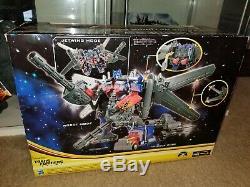 Transformateurs Dotm Noir De La Classe Leader Optimus Prime Lune Jetwing 2012