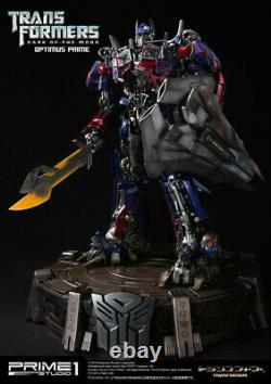 Transformateurs Optimus Prime Statue Cachée De La Lune Prime 1 Sideshow Nouveau