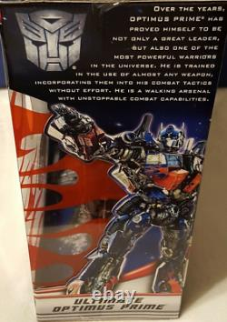 Transformateurs Ultimate Optimus Prime Dark Of The Moon Mechtech Toy Collectionnable