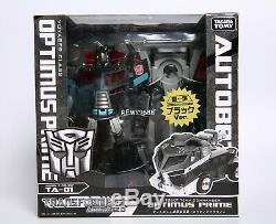 Transformers Animated Ta-01 Noir Némésis Optimus Prime Limited Edition