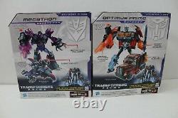 Transformers Dark Energon Optimus Prime Megatron Sealed Rid 2012 Voyager