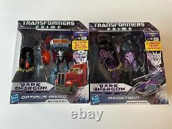 Transformers Dark Energon Optimus Prime Megatron Voyager Classe Autobot