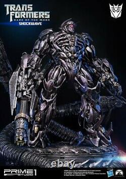 Transformers Dark Of The Moon Film Shockwave Statue Par Prime1studio New