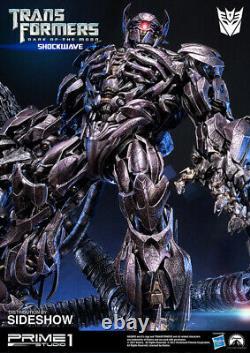 Transformers Dark Of The Moon Shockwave Resin Statue 93cm. Prime 1 Studio
