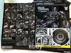 Transformers Dark Of The Moon Shockwave Statue 93cm Prime1 Studio / Sideshow Nouveau