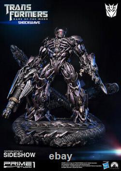Transformers De La Statue Résine Shockwave Lune 93cm. Prime 1 Studio