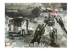 Transformers Generation Toy Op. Ex Gtw-03b Dark Optimus Prime Op Idw. Ex Figure Nouveau