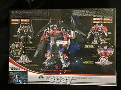 Transformers Leader Class Film Dark Of The Moon Optimus Prime Jetfire Mech Mib