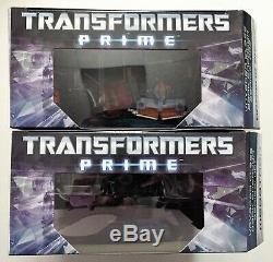 Transformers Prime Dark Energon Optimus Prime Et Megatron New Sealed Mint