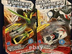 Transformers Prime Energon Sombre Et Wheeljack Lot De 6