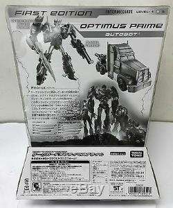 Transformers Prime First Edition Garde Noir Optimus Prime Voyager Limitée Noir
