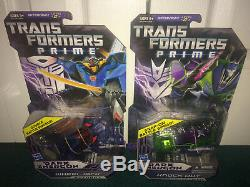 Transformers Prime Noir Energon Bbts Deluxe Set Starscream Bumblebee Wheeljack +