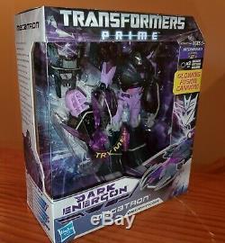 Transformers Prime Noir Energon Megatron Exclusive Voyager Classe Misb Us Vendeur