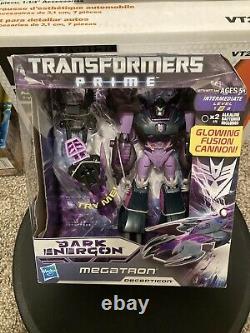 Transformers Prime Noir Energon Megatron Optimus Prime Starscream Lot (nib)