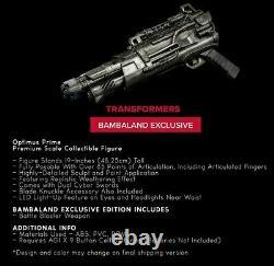 Troisa 3a Optimus Premier Dark De La Lune Bambaland Exclusive 19 Figure Nouveau
