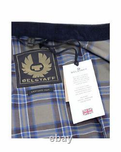 Vestes Homme Belstaff Kelland 71020815 Dark Navy Cotton Blue