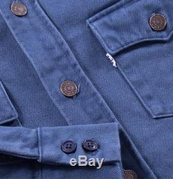 Vintage Clothing Levi Shirt Veste Bleu Foncé 70 De Style Levis LVC Levi Strauss