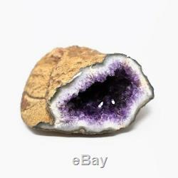 Violet Foncé Uruguayen Amethyst Geode Qualité Rocks 1010 Minéraux Pierres Précieuses