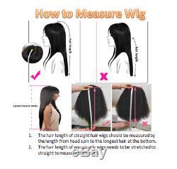 Wannabe Qualité Supérieure 22 Longue Perruque 100% Cheveux Humains Ondulée Et Humide Brun Foncé