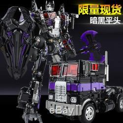 Wei Jiang Transformers Pomme Noire Cheveux Courts Sombre M01b Optimus Prime En Stock