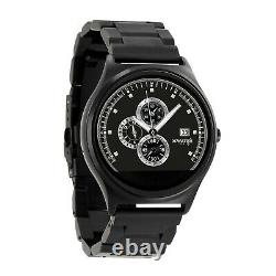 X-watch Ultra Slim Qin Xw Prime II Acier Foncé Android Et Ios Smartwatch
