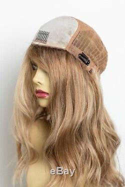 Yaffa Perruques Meilleure Qualité Blond Withdark Racines Longues 100% Cheveux